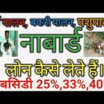 फार्मिंग डेयरी नाबार्ड सब्सिडी आवेदन|how to apply nabard subsidy for dairy farming in hindi