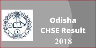 Odisha plus two result 2018