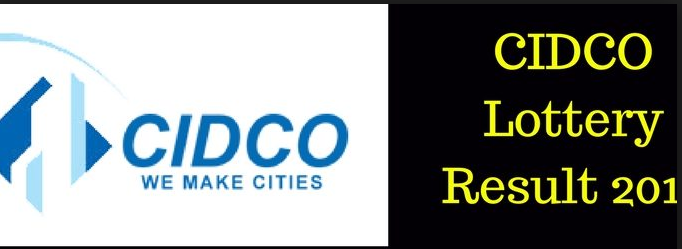 Cidco lottery result 2018