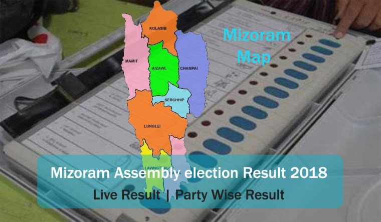 [Live] Mizoram assembly elections 2018 result|constituency wise