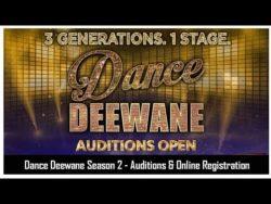 [रजिस्ट्रेशन] डांस दीवाने सीजन-4 ऑडिशन 2021|Dance Deewane Season 4 Auditions