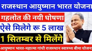 राजस्थान आयुष्मान भारत योजना