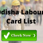[District Wise list] Odisha Labour Card beneficiary List 2021