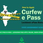 How To Apply COVID-19 India E-Pass India|curfew passes online.