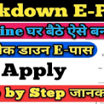 यूपी कर्फ्यू ई-पास ऑनलाइन रजिस्ट्रेशन|UP Curfew ePass Online Application@ rahat.up.nic.in e pass
