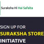 "Suraksha Store Registration Online""www.surksha store.com"