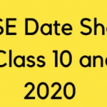 "[New] Cbse Date Sheet 2021""cbse.nic.in"