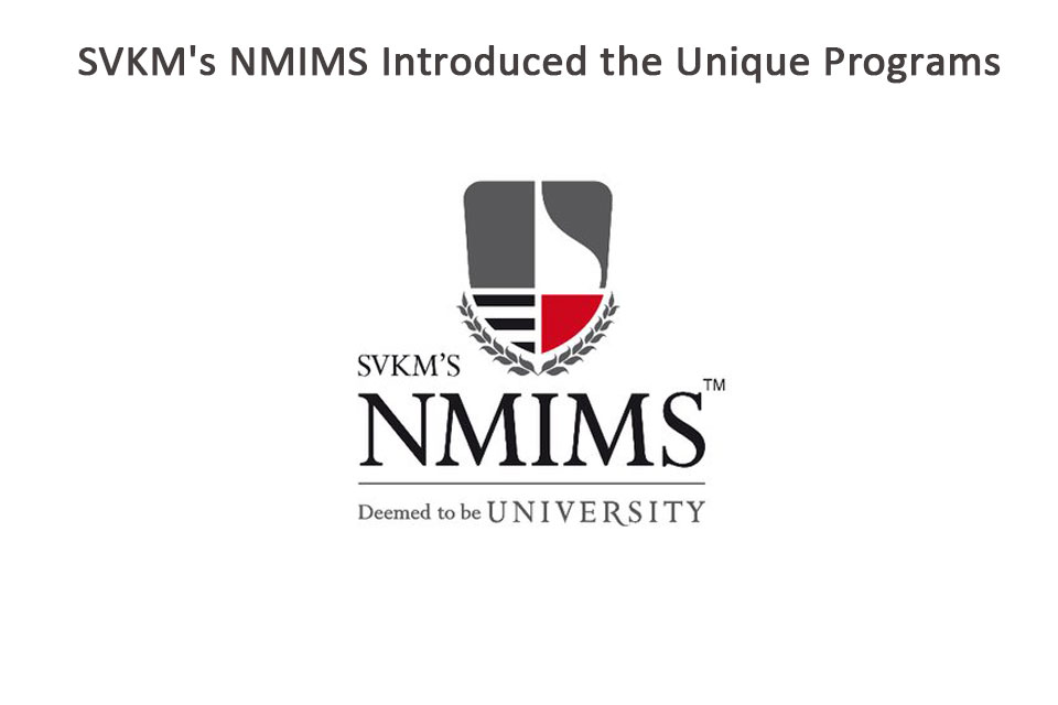 SVKM's NMIMS