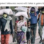 The Migrant laborers move will take 3 years by buses