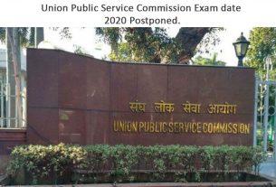 Union Public Service Commission Exam