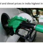 Petrol and diesel prices in India highest in world