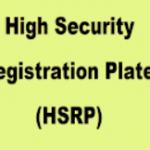 [Apply] High Security Number Plate Online Registration