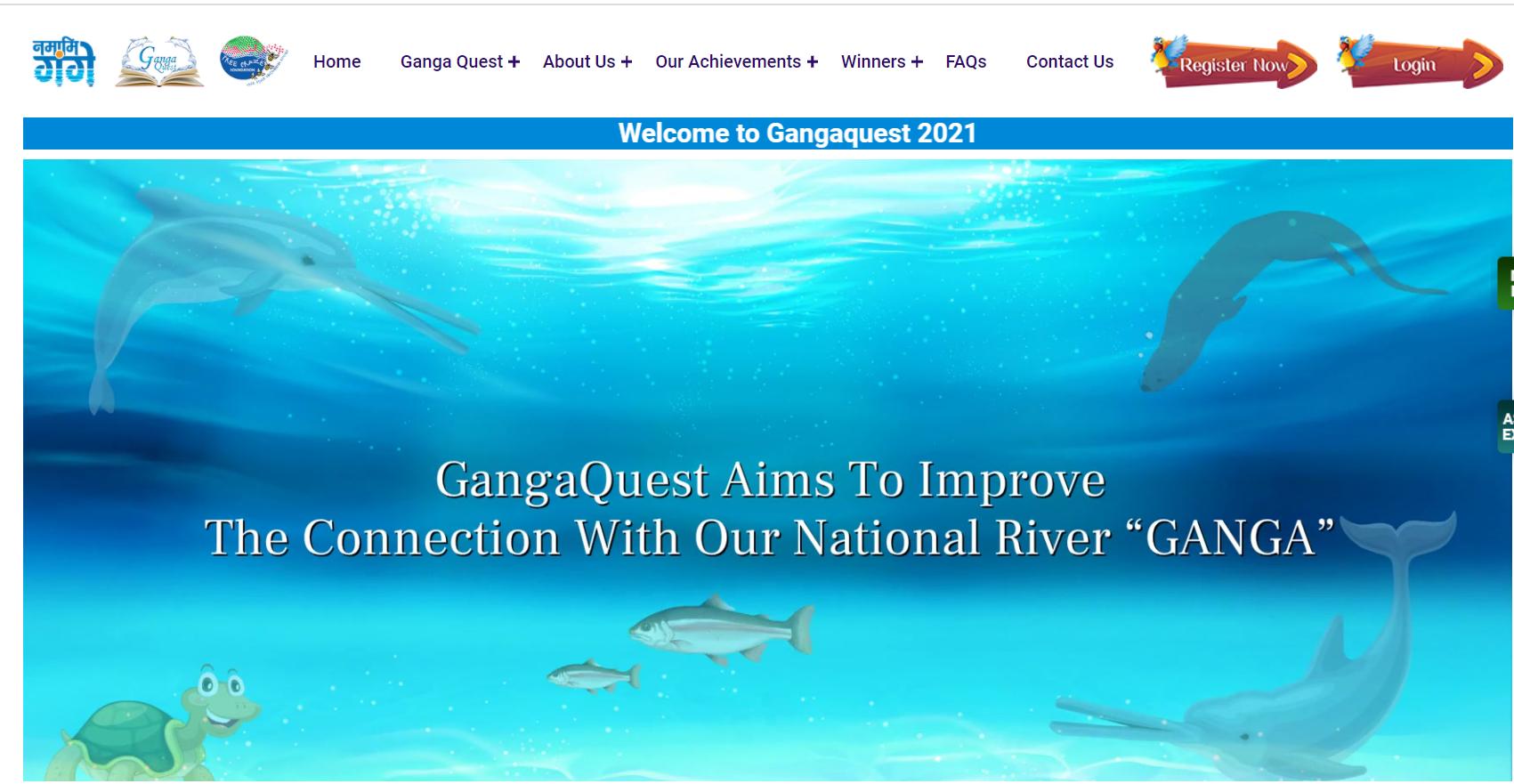 Ganga Quest Registration