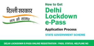 Delhi curfew e-pass