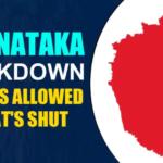 [Guidelines Pdf] Karnataka Complete Lockdown|bangalore lockdown extension