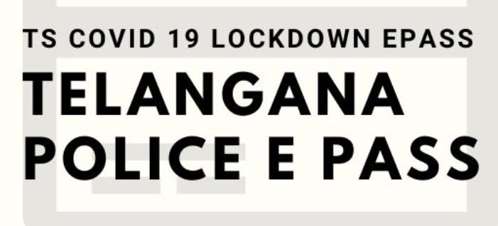 Telangana Police E Pass