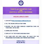 Kolkata Police E Pass Online Apply @ coronapass.kolkatapolice.0rg