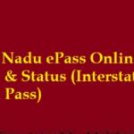 TN E Pass Registration: Tamil Nadu COVID-19 Pass Apply Online