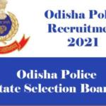 "Odisha Police SI Recruitment 2021""Police Recruitment 2021 pdf"
